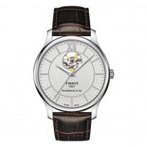 Часы Tissot Tradition Powermatic 80 Open Heart T063.907.16.038.00